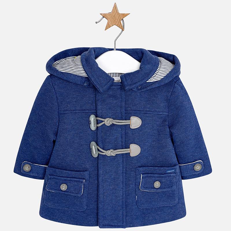 Παλτό μοντγκόμερι με αποσπώμενη κουκούλα - Baby 03 5e2ca53f383