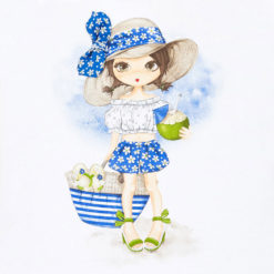 c8772bf5198 Σετ με παιδικά ρούχα Mayoral για κορίτσι με μπλούζα και σορτς σταμπωτό
