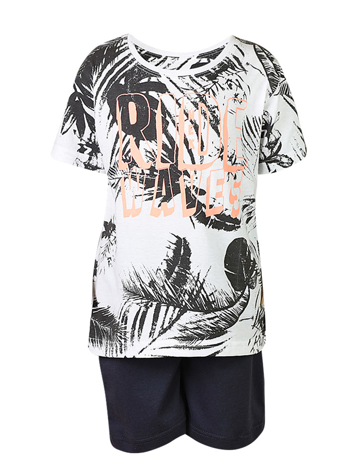 ef9de6512988 Σετ με ρούχα με μπλούζα κοντομάνικη και βερμούδα για αγόρι - Baby 03